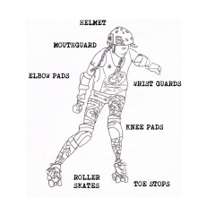 Roller Derby Safety Gear