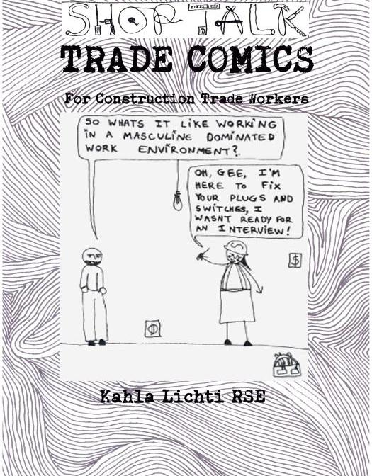 SHOP TALK TRADE COMICS BOOK